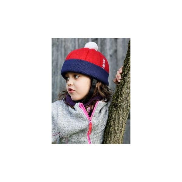 Czapka ochronna dziecięcy Ribcap Freddie Red, Midi