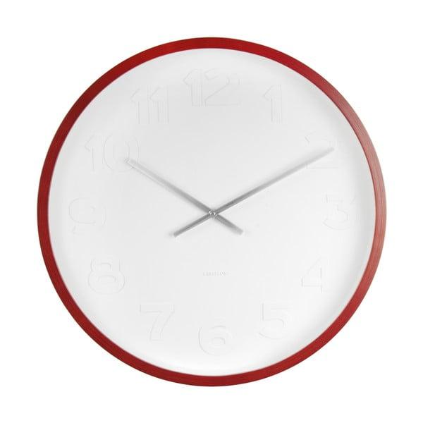 Zegar ścienny Karlsson Mr Woody Numbers