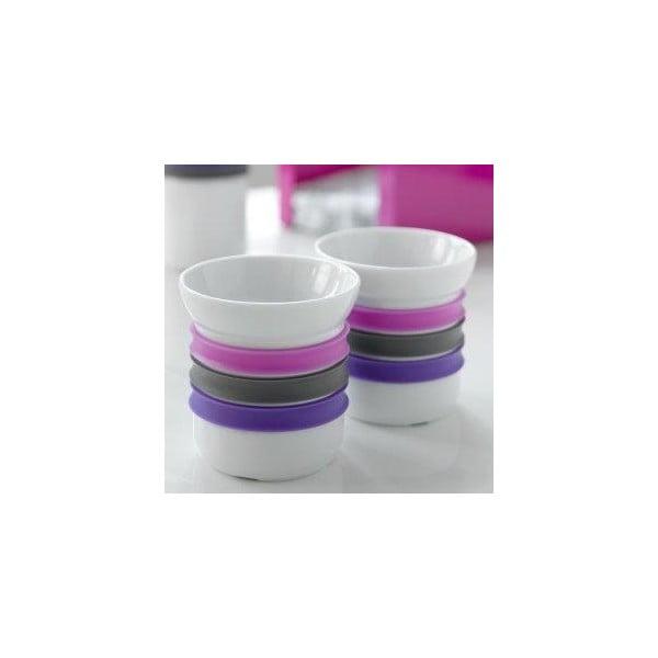 Zestaw 2 kubeczków porcelanowych na herbatę Steel Function Porto, 150 ml