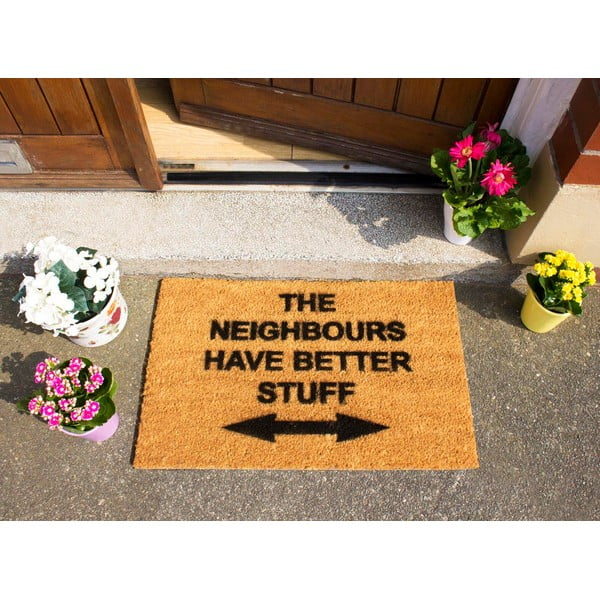 Wycieraczka Artsy Doormats Neighbours Have Better Stuff, 40x60 cm