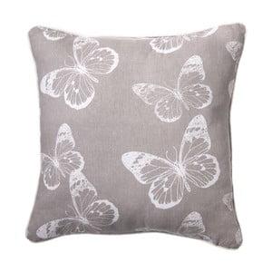 Poduszka Butterfly Grey, 45x45 cm