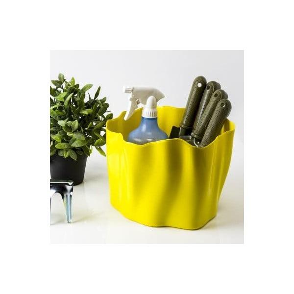 Pojemnik wielofunkcyjny QUALY Flow Bucket, żółty