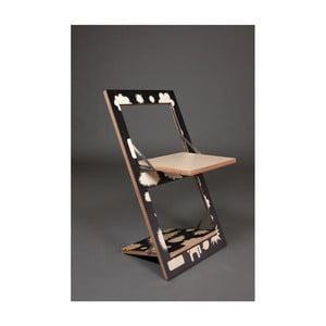 Krzesło składane z nadrukiem na jednej stronie Ambivalenz Fläpps Trouble