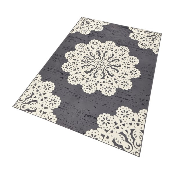 Dywan Hanse Home Gloria Lace Grey, 80x150 cm