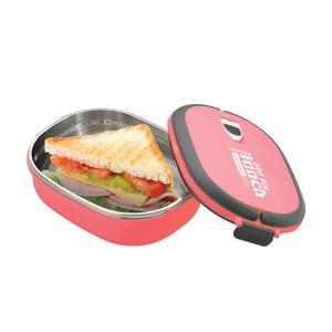 Pojemnik na lunch Lunchbox Pink, owalny
