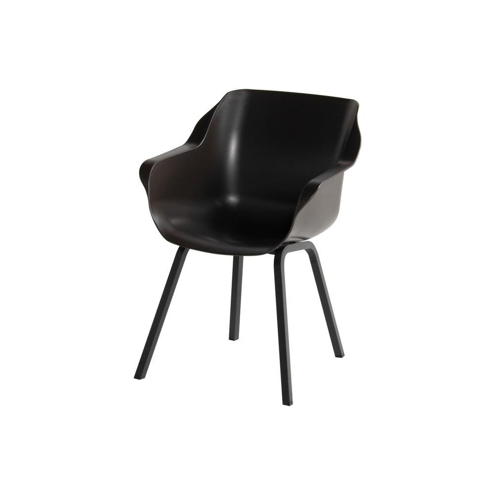 Zestaw 2 krzeseł ogrodowych w kolorze ciemnego mahoniu Hartman Sophie