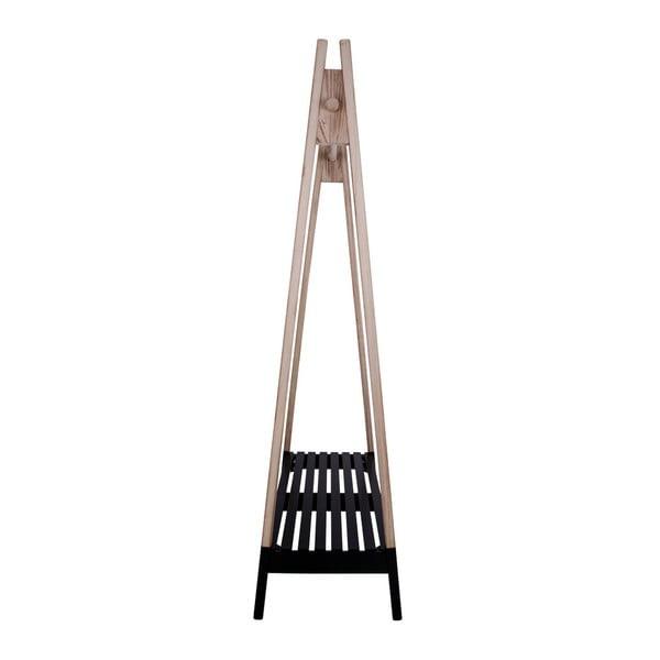 Drewniany wieszak na ubrania House Nordic Torino