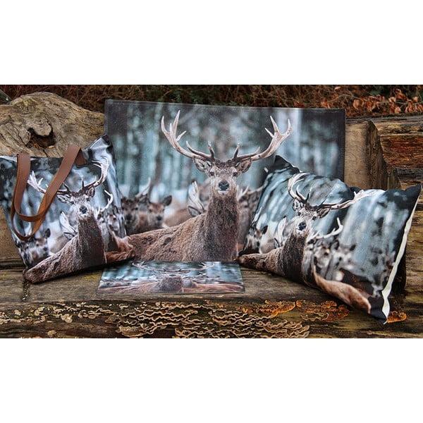 Poduszka Winter Deer 60x40 cm