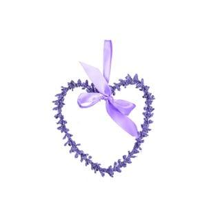 Wieniec dekoracyjny Ego Dekor Levand serce Double M
