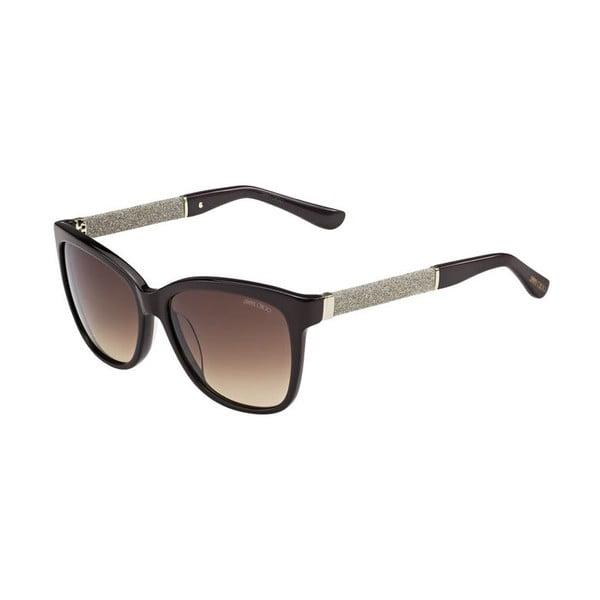 Okulary przeciwsłoneczne Jimmy Choo Cora Glitter/Brown