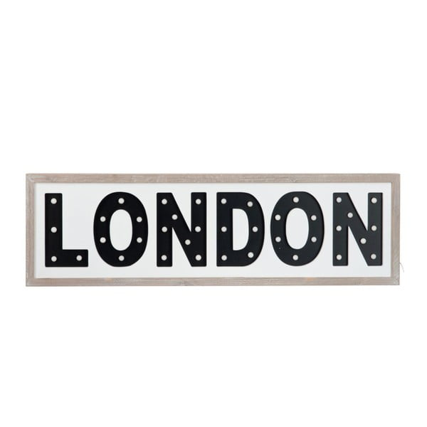 Tablica LED London Black