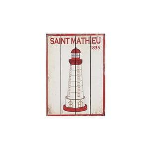 Obraz drewniany Saint Mathieu