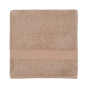 Beżowy ręcznik frotte Walra Frottier, 70x140cm