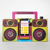 Głośnik w kształcie radia Just Mustard Boombox