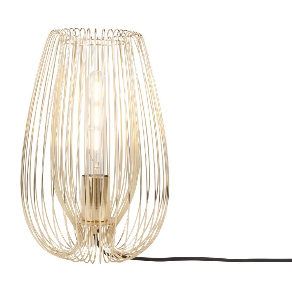Lampa stołowa w złotym kolorze Leitmotiv Lucid Large