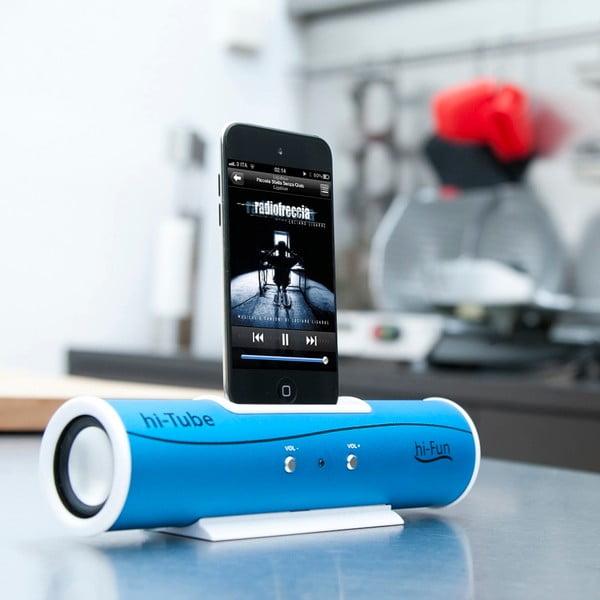 Przenośny głośnik Hi-Tube, niebieski