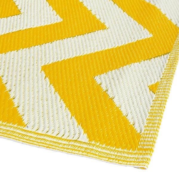 Dywan Aiko 120x180 cm, żółty