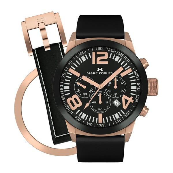Zegarek unisex Marc Coblen z dodatkowym paskiem i obręczą P81
