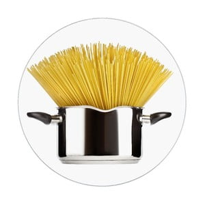 Szklana podstawka pod garnek Wenko Spaghetti