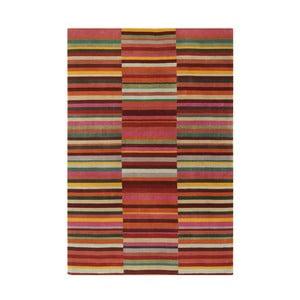 Wełniany dywan Jacob Red, 120x180 cm