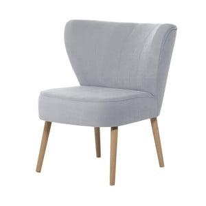 Jasnoniebieski fotel My Pop Design Hamilton