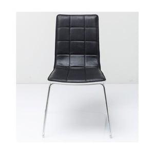 Czarne krzesło Kare Design Fidelity