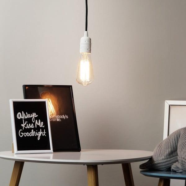 Lampa wisząca Cero, czarny/biały/czarny