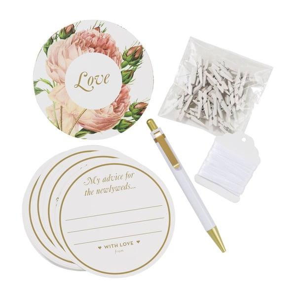 Etykietki na życzenia ślubne Wedding Advice