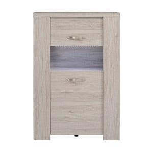 3-drzwiowa komoda z dekorem drewna dębowego Parisot Montdidier