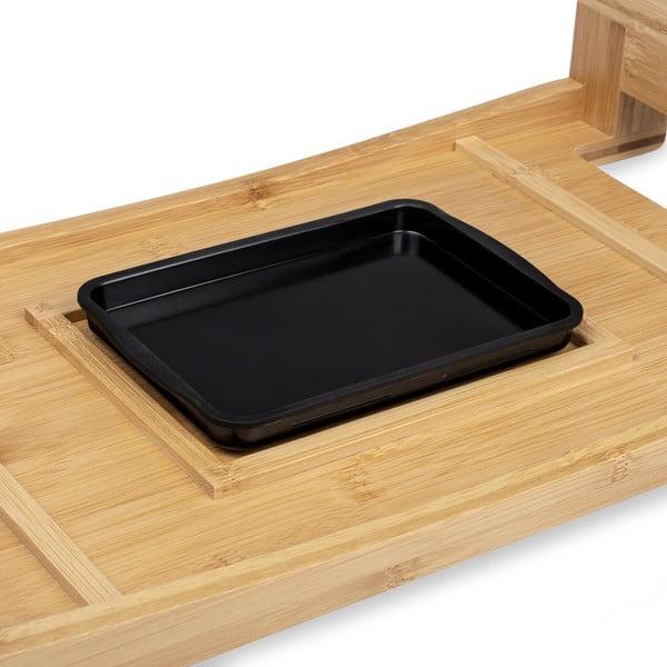 Stołowy grill elektryczny z bambusową ramą Princess Table Chef Pure, moc 1600W