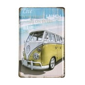 Tablica Beach Van, 20x30 cm