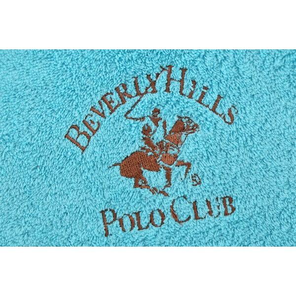 Ręcznik bawełniany BHPC 50x100 cm, turkusowy