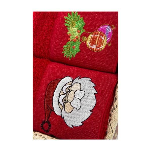 Zestaw 2 ręczników Xmas V19, 40x60 cm