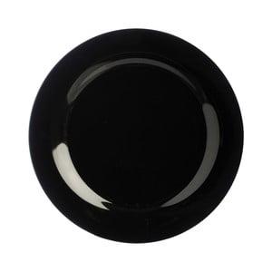 Talerz   kamionkowy Black Dinner, 27 cm