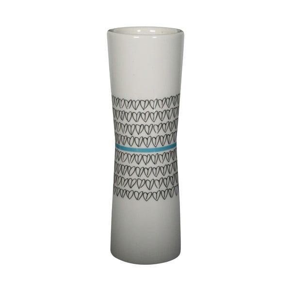 Wazon Heart Vase Turquoise