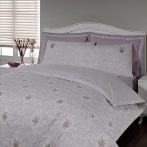 Pościel i prześcieradło In Love Lavender, 160x220 cm