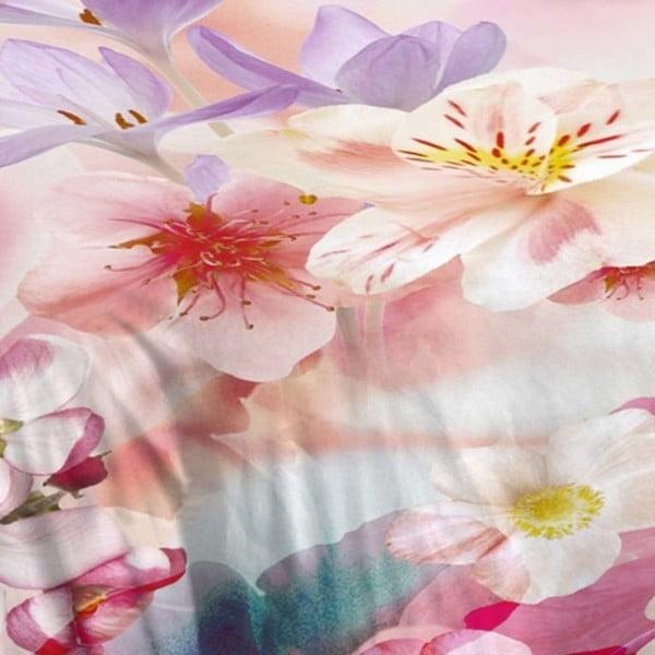 Różowa pościel bawełniana Muller Textiel Descanso, 240x200 cm