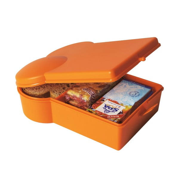 Pojemnik na żywność, pomarańczowy