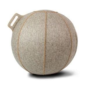 Piłka do siedzenia VLUV 65 cm, filc greige