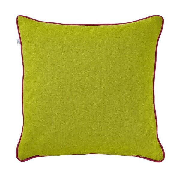 Poduszka z wypełnieniem Libby Lime, 45x45 cm