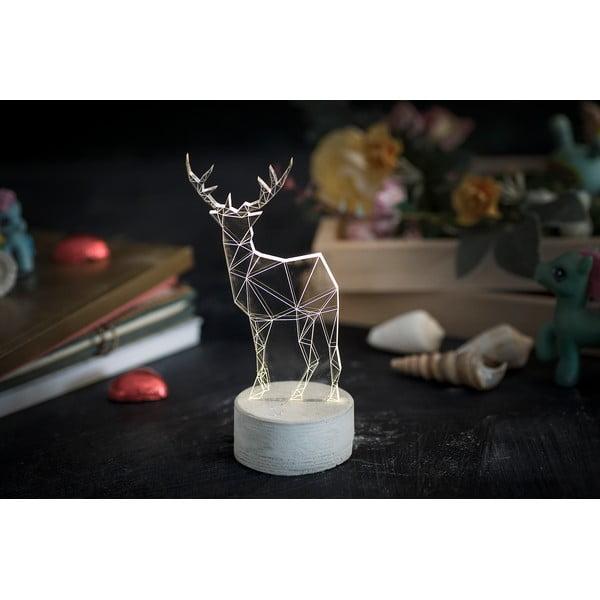 Lampka Deer, 20 cm