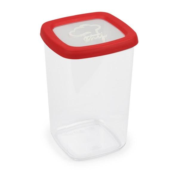 Czerwony pojemnik na żywność Snips, 1,5 l