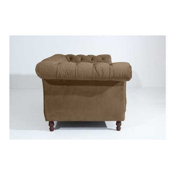 Szarobeżowa sofa dwuosobowa Max Winzer Ivette