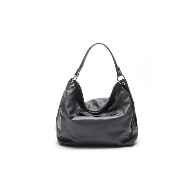 Skórzana torebka Carla Ferreri 2112 Grigio