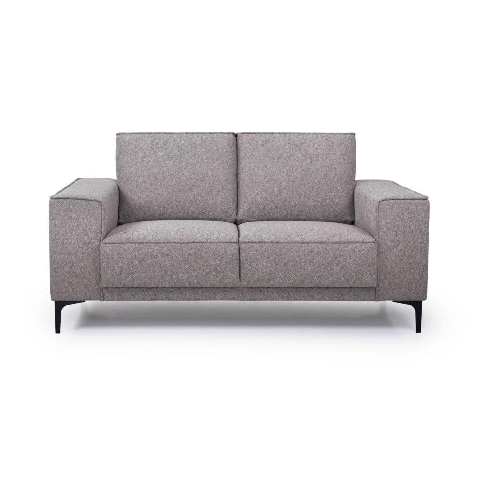 Kawowa sofa Scandic Copenhagen, 164 cm