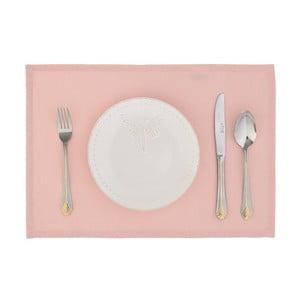 Brzoskwiniowy   komplet 2 mat stołowych Joy