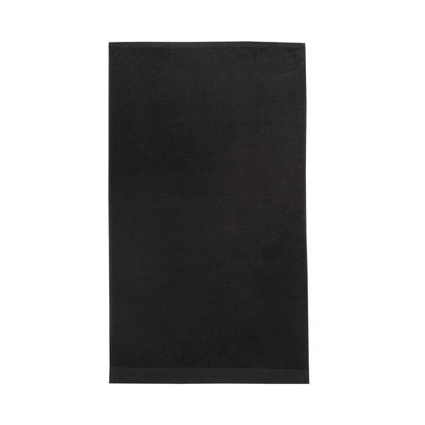 Zestaw 3 czarnych ręczników Seahorse Pure,60x110cm