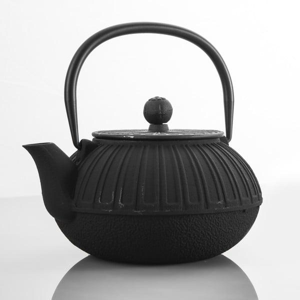 Czajnik żeliwny Bona Black, 850 ml