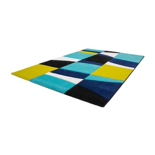 Dywan Lifestyle 171 czarny/ niebieski, 80x150 cm
