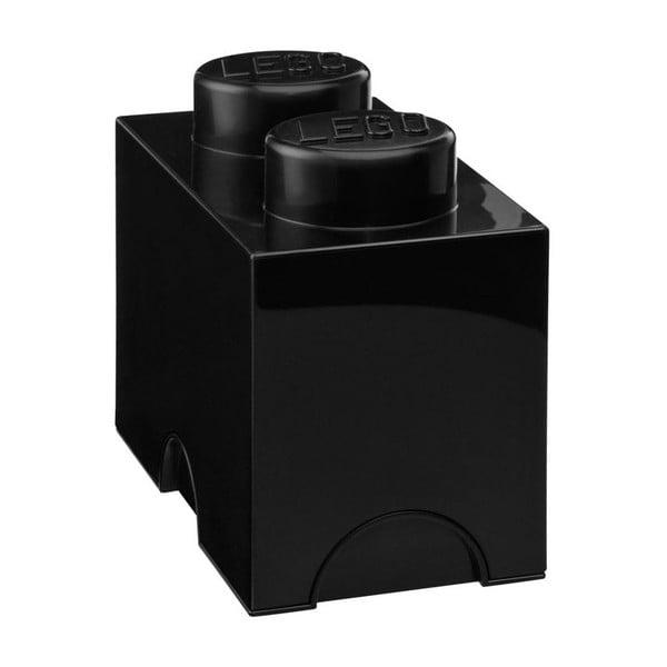 Czarny średni pojemnik LEGO®